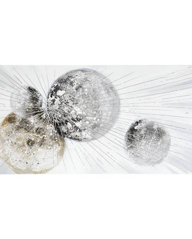 Monee OLEJOMALBA, abstraktní, 150/70 cm - vícebarevná