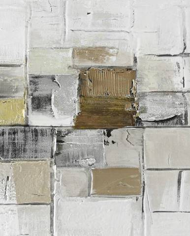 Monee OLEJOMALBA, abstraktní, 30/30 cm - vícebarevná