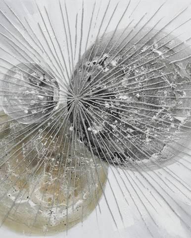 Monee OLEJOMALBA, abstraktní, 85/85 cm - vícebarevná