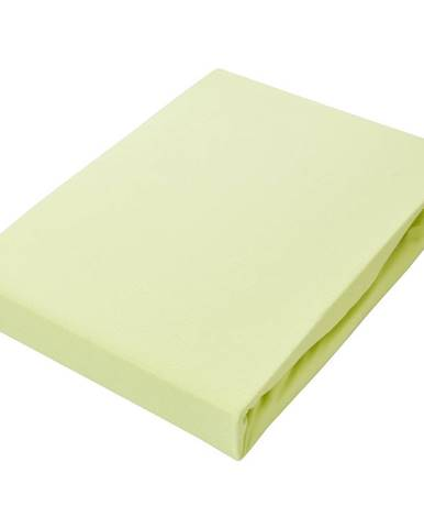 Novel PROSTĚRADLO NA BOXSPRING, žerzej, zelená, 180/220 cm - zelená
