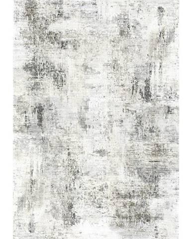 Novel VINTAGE KOBEREC, 160/230 cm, šedá, černá, bílá - šedá, černá, bílá