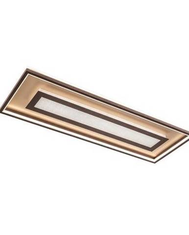 STROPNÍ LED SVÍTIDLO, 110/40/8 cm - barvy zlata, rezavá