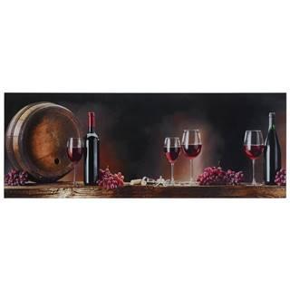 Monee OBRAZ NA SKLE, jídlo & pití, 80/30 cm - vícebarevná