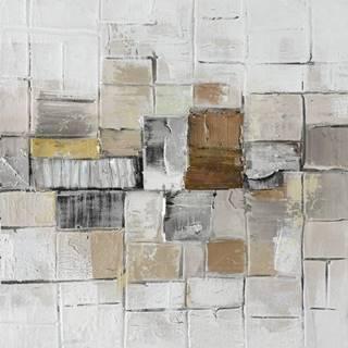 Monee OLEJOMALBA, abstraktní, 55/55 cm - vícebarevná