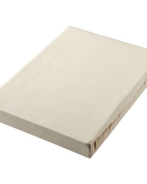 Novel Novel PROSTĚRADLO NAPÍNACÍ, žerzej, béžová, 180/200 cm - béžová
