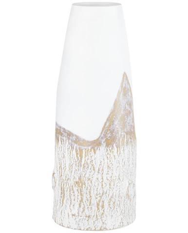 Ambia Home VÁZA, plast, 38 cm - hnědá, bílá