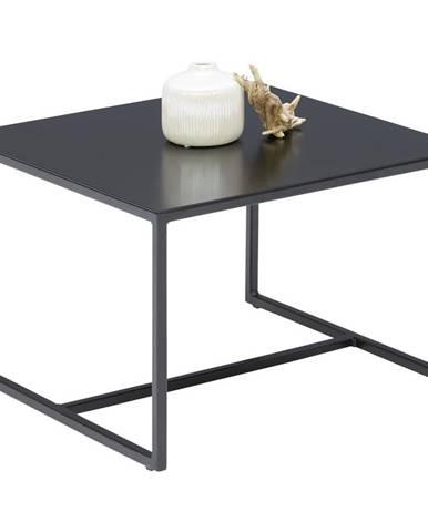 KONFERENČNÍ STOLEK, černá, kov, 50/50/33 cm - černá