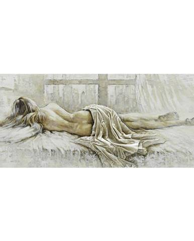 Monee OLEJOMALBA, ženy, 180/70 cm - krémová, bílá