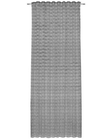 Novel HOTOVÝ ZÁVĚS, poloprůhledné, 140/255 cm - světle šedá