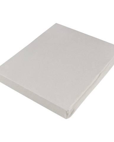 Novel PROSTĚRADLO NAPÍNACÍ, žerzej, šedá, 150/200 cm - šedá