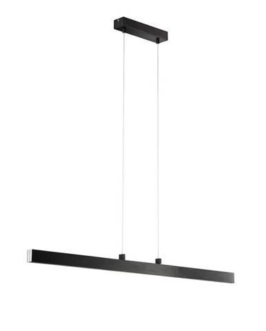 Novel ZÁVĚSNÉ LED SVÍTIDLO, 110-140/6/140 cm - antracitová, barvy chromu