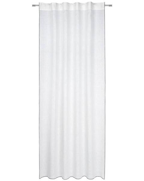 Landscape Landscape HOTOVÝ ZÁVĚS, neprůsvitné, 140/255 cm - bílá, světle šedá