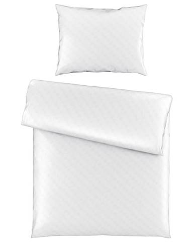 Ambiente POVLEČENÍ, satén, bílá, 140/200 cm - bílá