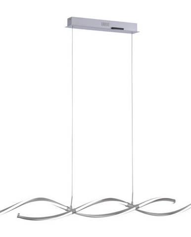 LED ZÁVĚSNÉ SVÍTIDLO, 111/10,5/120 cm - barvy stříbra