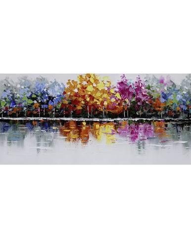 Monee OLEJOMALBA, stromy, 150/55 cm - modrá, žlutá, fialová, červená