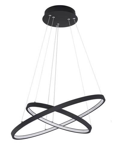 Novel ZÁVĚSNÉ LED SVÍTIDLO, 51/120 cm - opál, černá