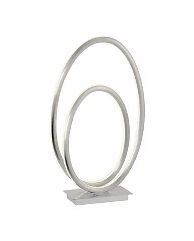 STOLNÍ LED LAMPA, 25/10/43 cm - barvy stříbra