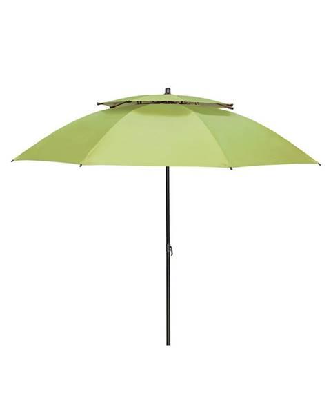 Doppler Doppler SLUNEČNÍK, vzpěrný kloub, odpuzuje déšť, 200 cm - zelená