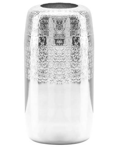 Ambia Home VÁZA, kov, 30 cm - barvy stříbra