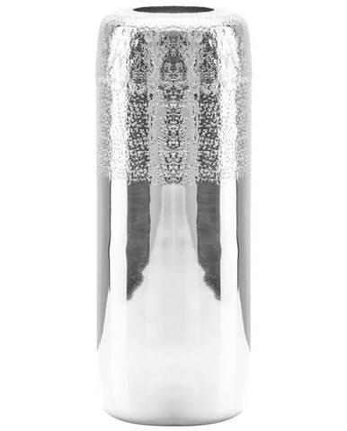 Ambia Home VÁZA, kov, 40 cm - barvy stříbra