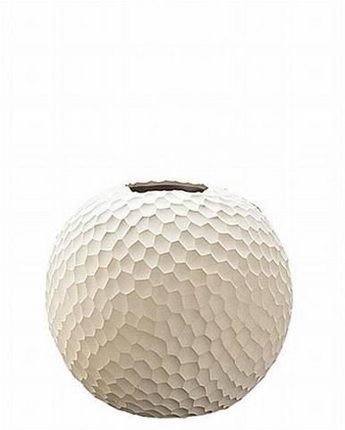 ASA VÁZA, keramika, 20 cm - béžová