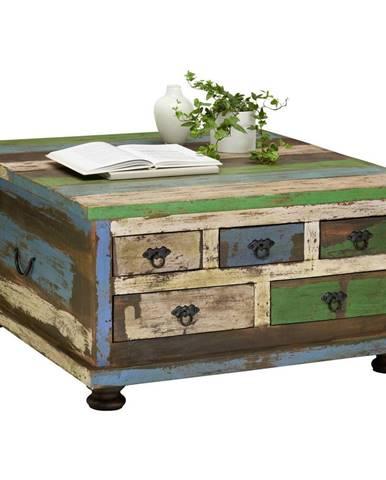 Carryhome KONFERENČNÍ STOLEK, vícebarevná, dřevo, kompozitní dřevo, 88/88/47 cm - vícebarevná