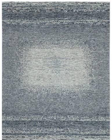 Esposa ORIENTÁLNÍ KOBEREC, 130/190 cm, světle šedá, tmavě šedá - světle šedá, tmavě šedá