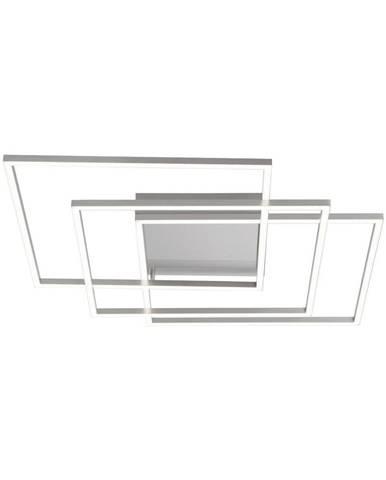 STROPNÍ LED SVÍTIDLO, 60/60/8 cm - barvy stříbra