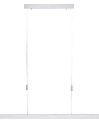 ZÁVĚSNÉ LED SVÍTIDLO, 120-179/5,5/100-180 cm - barvy stříbra