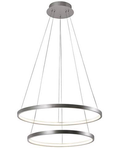 ZÁVĚSNÉ LED SVÍTIDLO, 50/120 cm - barvy stříbra