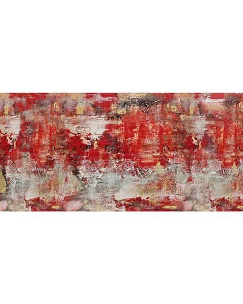 Monee Monee OLEJOMALBA, abstraktní, 180/70 cm - žlutá, červená, černá, bílá