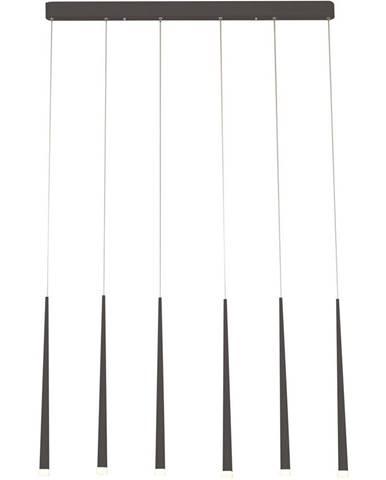 Ambiente ZÁVĚSNÉ LED SVÍTIDLO, 80/50/120 cm - černá