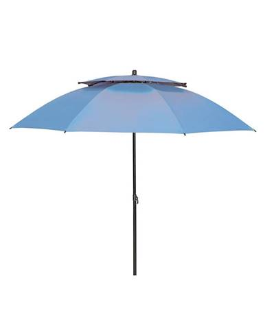 Doppler SLUNEČNÍK, vzpěrný kloub, odpuzuje déšť, 200 cm - modrá
