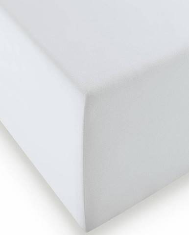 Fleuresse ELASTICKÉ PROSTĚRADLO, barvy stříbra, 200/200 cm - barvy stříbra