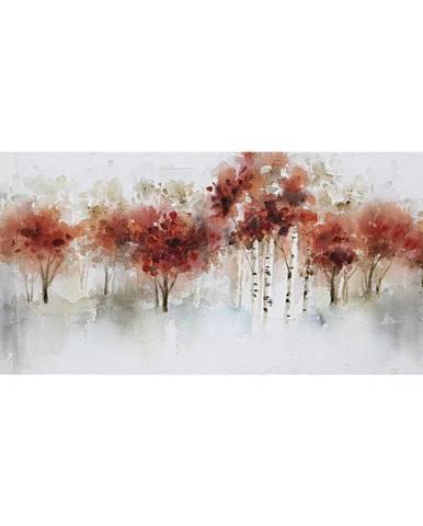 Monee OLEJOMALBA, stromy, 120/55 cm - žlutá, červená, černá, bílá