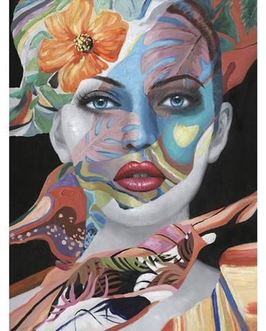 Monee OLEJOMALBA, ženy, 90/120 cm - modrá, hnědá, šedá, zelená, oranžová, červená, černá