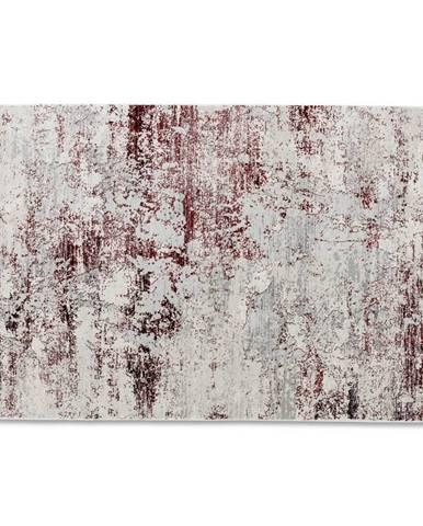 Schöner Wohnen Teppi TKANÝ KOBEREC, 80/150 cm, krémová, červená - krémová, červená