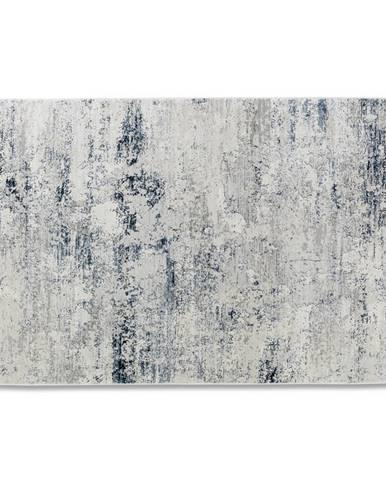 Schöner Wohnen Teppi TKANÝ KOBEREC, 80/150 cm, modrá, krémová - modrá, krémová