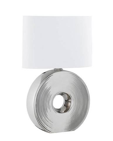 STOLNÍ LAMPA, E27, 54 cm - bílá