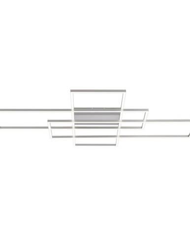 STROPNÍ LED SVÍTIDLO, 101/75/8 cm - barvy stříbra