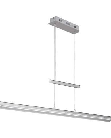ZÁVĚSNÉ LED SVÍTIDLO, 135/93-150 cm - barvy niklu