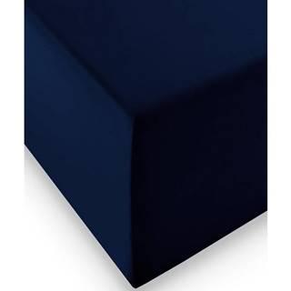 Fleuresse ELASTICKÉ PROSTĚRADLO, tmavě modrá, 200/200 cm - tmavě modrá
