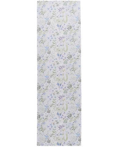 Esposa BĚHOUN NA STŮL, 40/140 cm, modrá, šedá, zelená, šeříková - modrá, šedá, zelená, šeříková