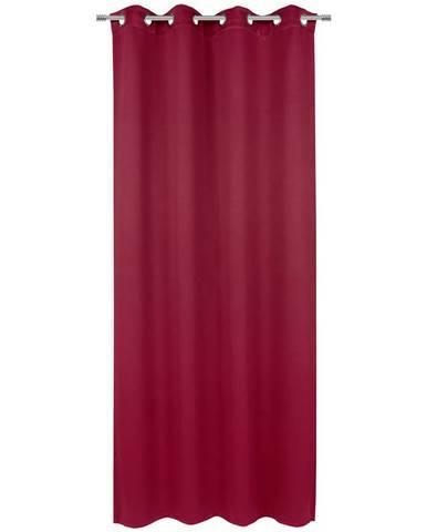Esposa ZÁVĚS S OČKY, zatemnění, 140/245 cm - vínově červená
