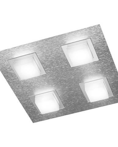 Großmann STROPNÍ LED SVÍTIDLO, 30/30/52 cm - barvy hliníku