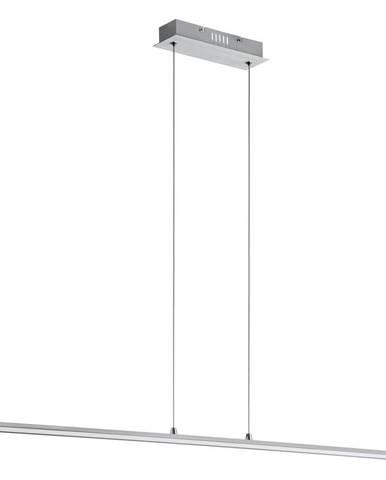Novel ZÁVĚSNÉ LED SVÍTIDLO, 121/7/120 cm - barvy stříbra, bílá, barvy hliníku, barvy chromu