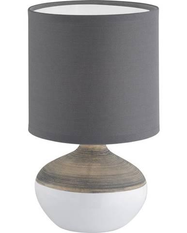 STOLNÍ LAMPA, E14, 32 cm - šedá