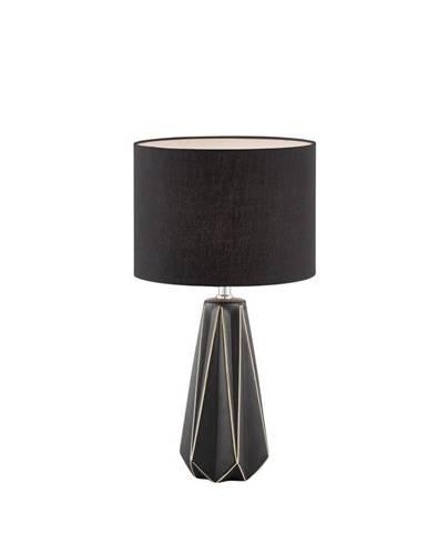 STOLNÍ LAMPA, E27, 25/46 cm - černá, cappuccino