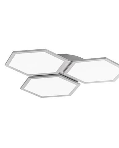 STROPNÍ LED SVÍTIDLO, 69/69 cm - barvy stříbra, bílá