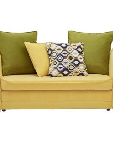 Ti`me POHOVKA PRO DĚTI A MLÁDEŽ, textil, hnědá, žlutá, zelená - hnědá, žlutá, zelená